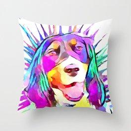 English Springer Spaniel Throw Pillow