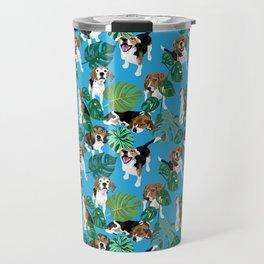 beagle tropical Travel Mug