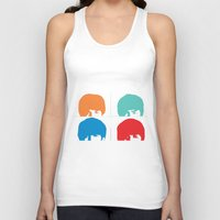 liverpool Tank Tops featuring Fab 4 of Liverpool by Alexandra Gambaro