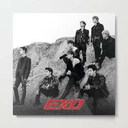 EXO Don't mess up my tempo Metal Print