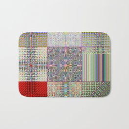 "Cos(Sin(j) × i ÷ k + Cos(i) × j ÷ n) × 0.7    [""TV""] Bath Mat"