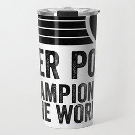 Beer Pong Champion Travel Mug