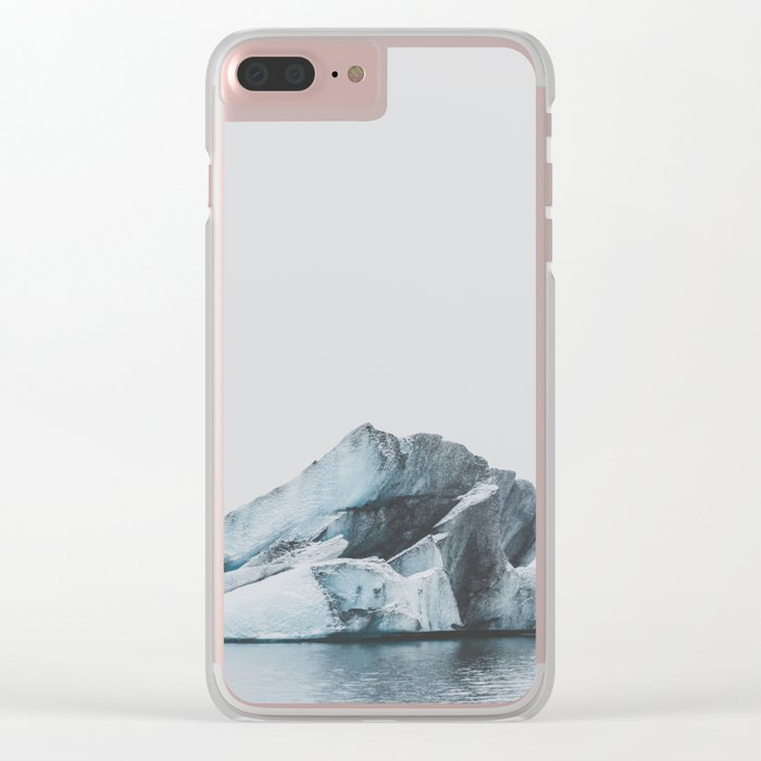 Jökulsárlón, Iceland Clear iPhone Case