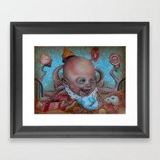 crack'n Framed Art Print