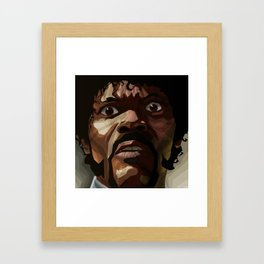 Pulp Fiction - Jules Winnfield Framed Art Print