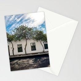 Tree green windows | Yaiza Lanzarote | Minimal fine art travel photography photography | Stationery Cards
