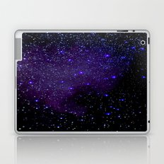 Indigo Purple Stars Laptop & iPad Skin