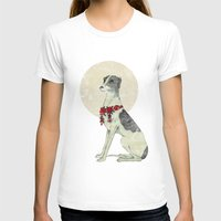 greyhound T-shirts featuring GREYHOUND by HOLO-HOLO
