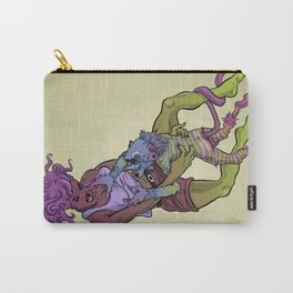 Monkey Lady Anger Throw Carry-All Pouch