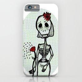 Love and bones iPhone Case