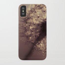 dandelion gold iPhone Case