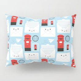 Happy Mail - Kawaii Post Pillow Sham