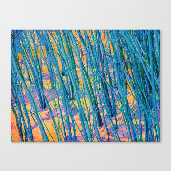 The Green Woods Canvas Print
