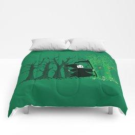 The hills WERE alive Comforters