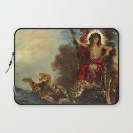 """Gustave Moreau """"Le triomphe de Bacchus"""" Laptop Sleeve"""