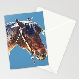 Rio a red roan Stationery Cards