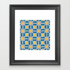 Morocco ornament Framed Art Print