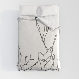 Wherever You're Going Comforters