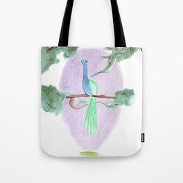 Peacock Prime Tote Bag
