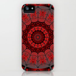 Gothic Spider Web iPhone Case