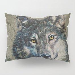 Wolf 2 background Pillow Sham