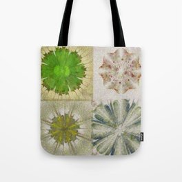 Grasshouse Configuration Flower  ID:16165-050526-69250 Tote Bag