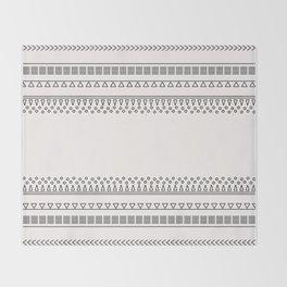 Tribal Pattern of Balondo Throw Blanket