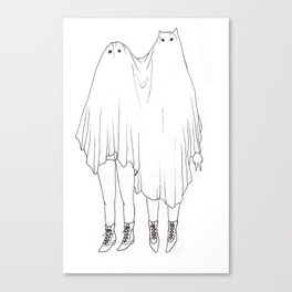 Little Ghosts Canvas Print