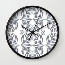 Indigo Traditional Motif Wall Clock