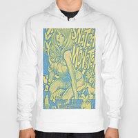 snatch Hoodies featuring Attack Of The 50 Foot Snatch Monster  by S.D. Strobeck