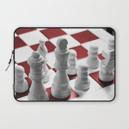 Chess - Red Laptop Sleeve