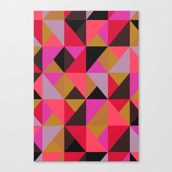 colour + pattern 19 Canvas Print