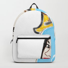 The Ghost of Christmas Past - Selfie on Fire - A Cristmas Carol Backpack