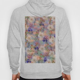 Abstract floral pattern 25 Hoody