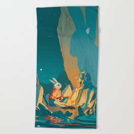 Master and student Beach Towel