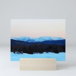 High Mountain in the Spring Mini Art Print