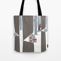 A Tree In The Forest Tote Bag