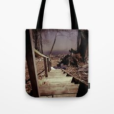Walking The Murky Waters Tote Bag