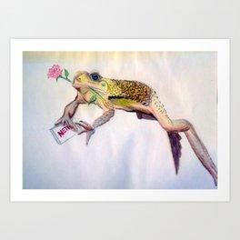 Amantes sut Amphibians Art Print