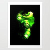 hulk Art Prints featuring Hulk by Juliana Rojas | Puchu