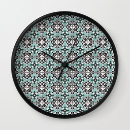 Floor Series: Peranakan Tiles 31 Wall Clock