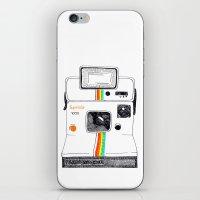 polaroid iPhone & iPod Skins featuring Polaroid by Mariam Tronchoni