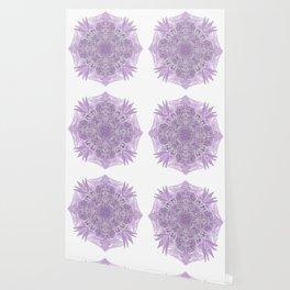 Purple Lace Mandala Wallpaper