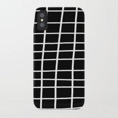 Hand Grid Large Black Slim Case iPhone X