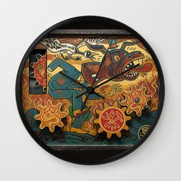 Paul Chatem_The Palm of a Cad Wall Clock