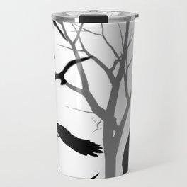 Flying Crow Travel Mug