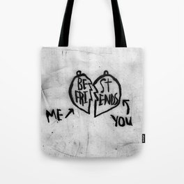 BE FRI / ST ENDS Tote Bag