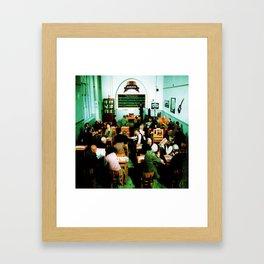 OASIS LIVE TOUR DATES 2019 KAMBOJA Framed Art Print