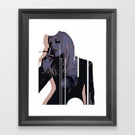 """""""Codename: Susan Glenn - Chasing Elvira"""" Framed Art Print"""