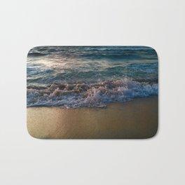 wave break Bath Mat